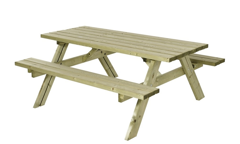10 Year Guarantee | Bespoke Picnic Tables | Classic 6 Seater Picnic Table