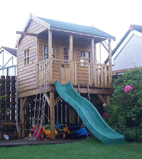 The Manor Treehouse | Childrens Wooden Playhouses