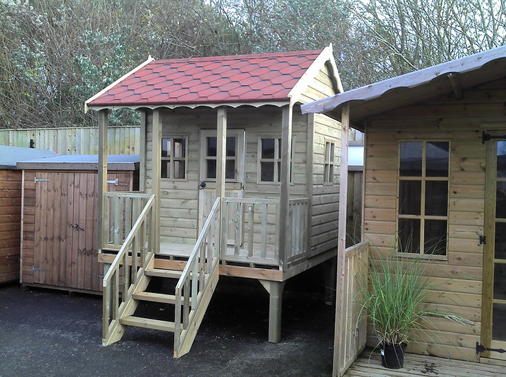 The Manor House On Stilts | Childrens Wooden Playhouses