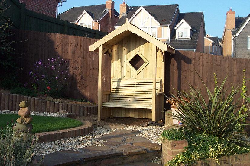 The Manor Arbour | Outdoor Arbours | Wooden Garden Arbours