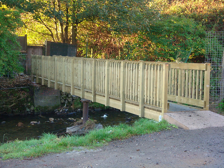 Bridges & Walkways | Bespoke Bridges