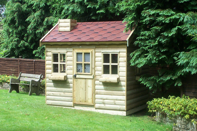 The Country Cottage Playhouse | Handmade Childrens Wooden Playhouses