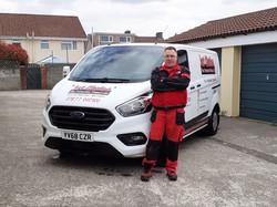 mike from 1st choice fire extinguishers wales