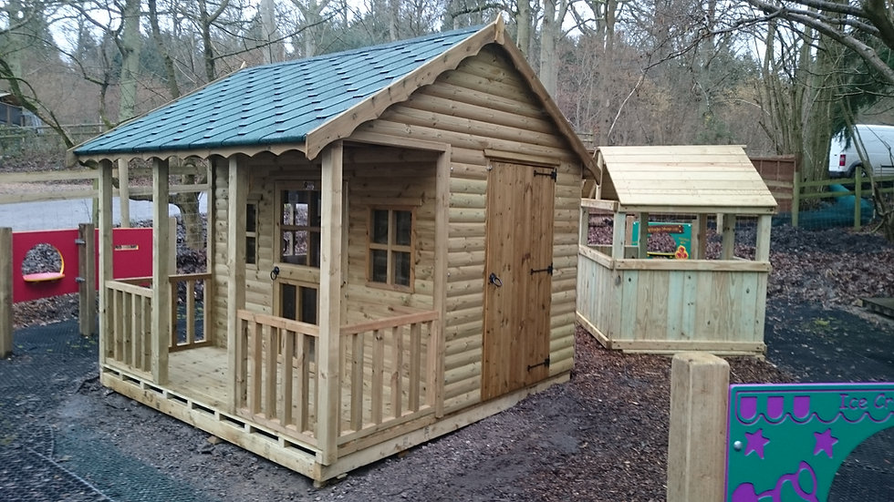 Disabled Access Playhouse | Childrens Wooden Playhouses