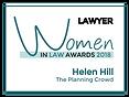 women in law logo in full colour