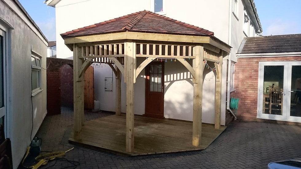 Made To Measure Gazebo | Wooden Gazebos