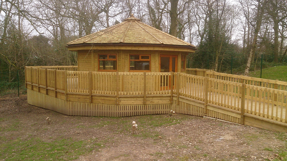 Outdoor Wooden Learning Centre | Outdoor Teaching Centre