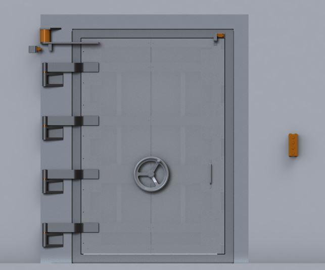 High Capacity Blast Door