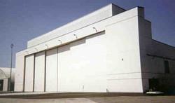 Bi-Parting Hangar Door