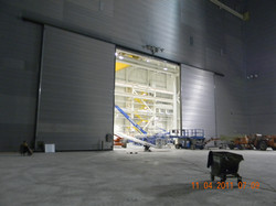 Composite Sliding Acoustic Door