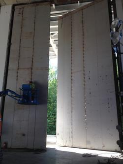 Test Cell Blast Door