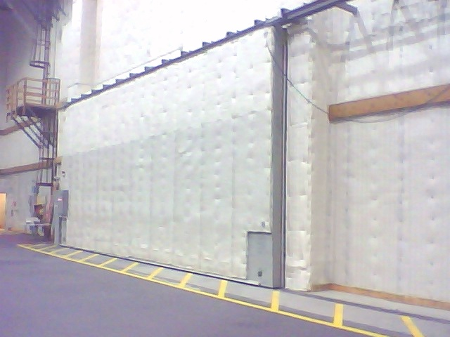 large scale studio door
