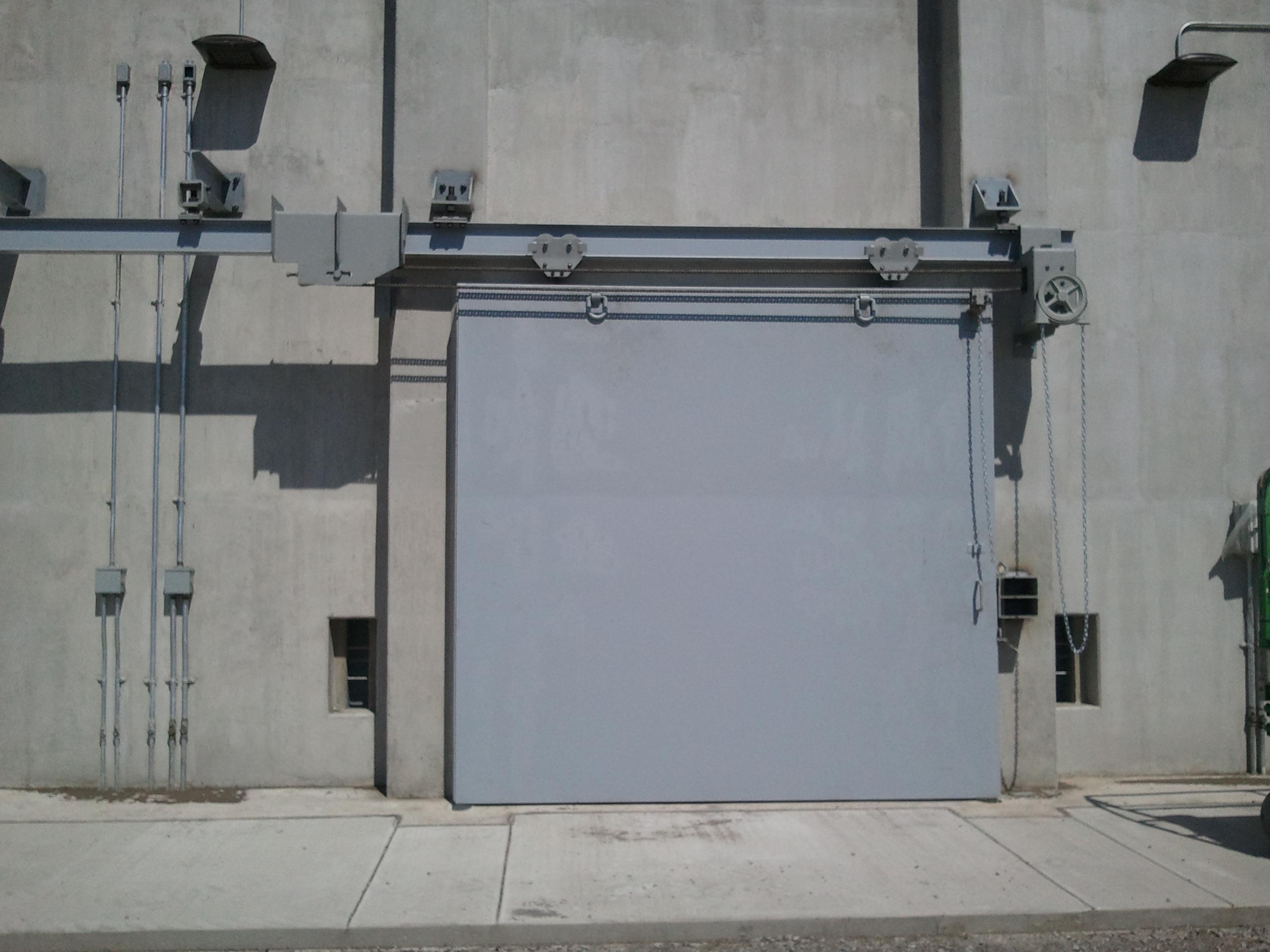 Ammunition Igloo Door