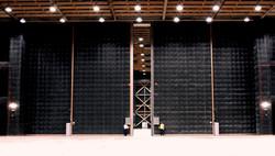 Large Scale Acoustic Door