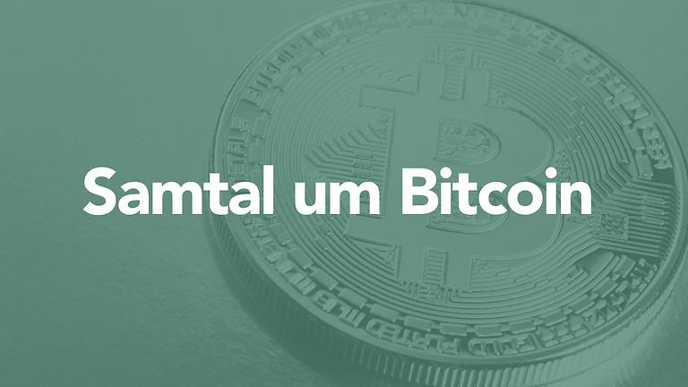 Samtal um Bitcoin