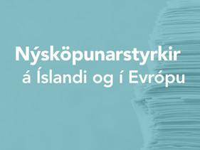 Nýsköpunarstyrkir á Íslandi og í Evrópu
