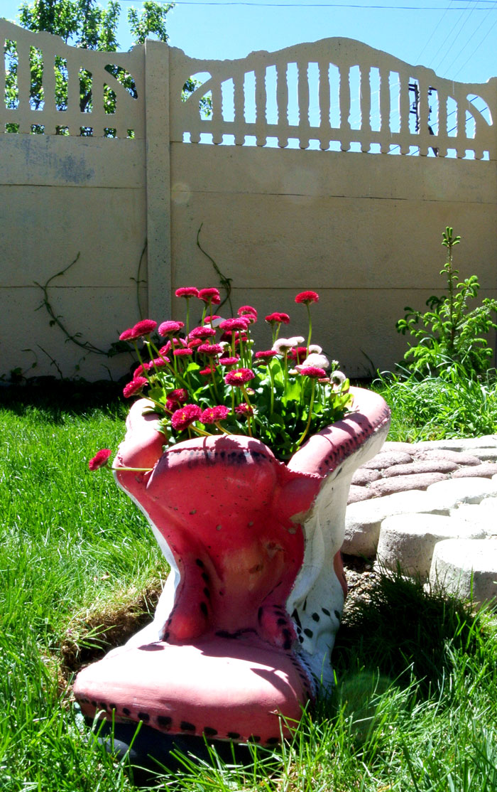 Очень любим цветы:)))