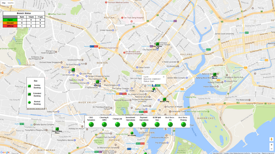 Zoomable maps