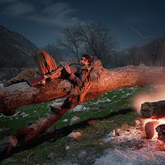 Bakhtiari nomad, Zagros mountains, Iran