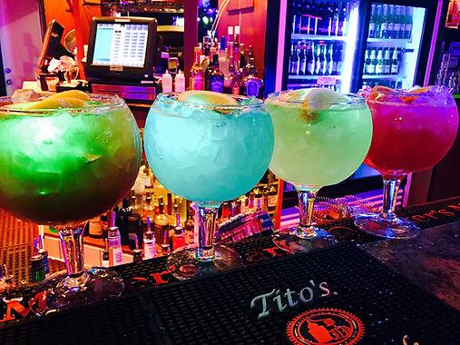 Fishbowl Drinks