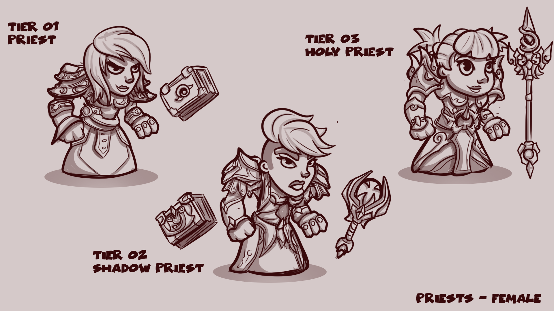 Priest Concepts