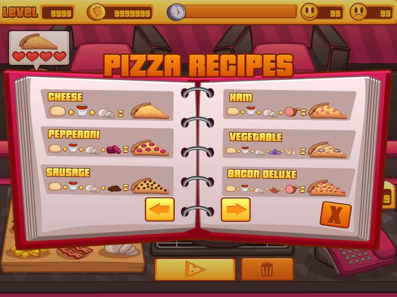 Pizza UI