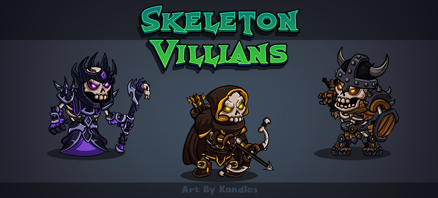 Skeleton Villians