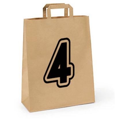 Friday - Bag of 4