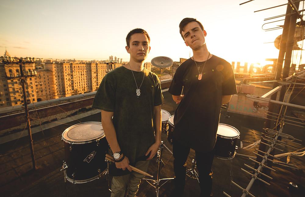 Барабанное шоу барабанщиков Rooftop