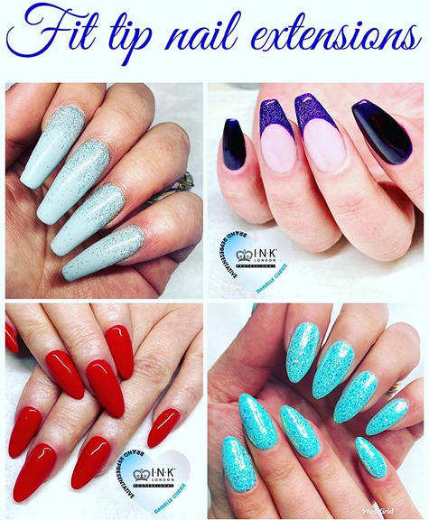 Fit Tip Gel Nail Extensions