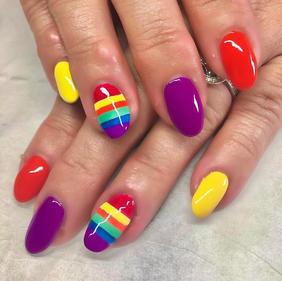 Pride Gel Nails