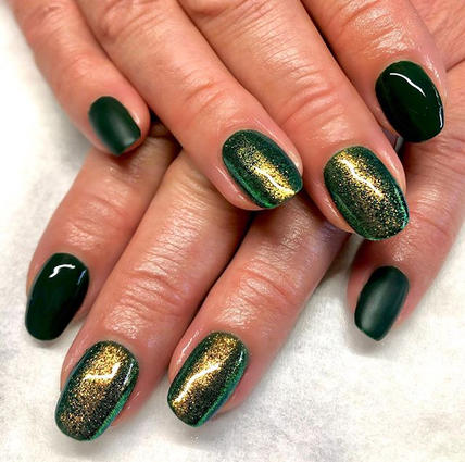 New after eight & Megan glitter nails