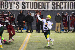 Carson throwing