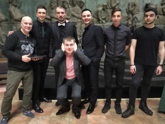 Команда кавер-группы Lonod Jam поздравляет всех с Новым годом 2018!