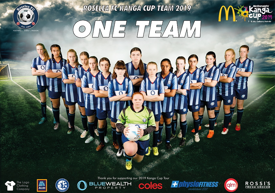Kanga Cup Cup Team Photo 1 - GAME FACE A