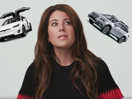 Elon Musk Responds To Monica Lewinsky's Tweet On Buying A Subaru vs. Tesla