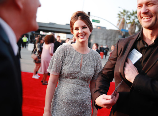 Lana Del Rey Bought Her 2020 Grammys Dress by Aidan Mattox From The Mall