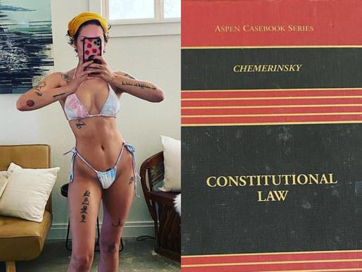 Halsey Reveals On Instagram She's 'Studying for the Bar Exam' During Coronavirus Pandemic Quarantine