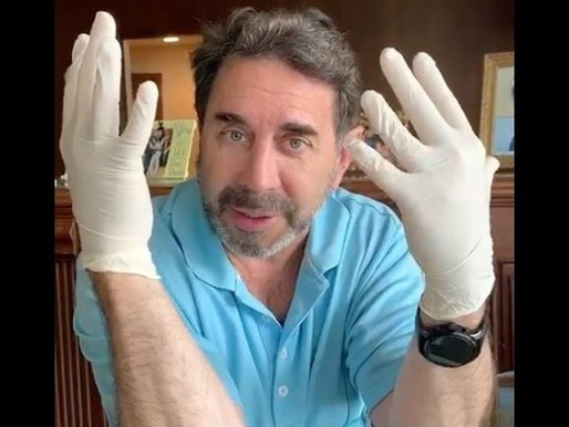 Dr. Paul Nassif: The Correct Way To Wear a Hospital Mask & Gloves