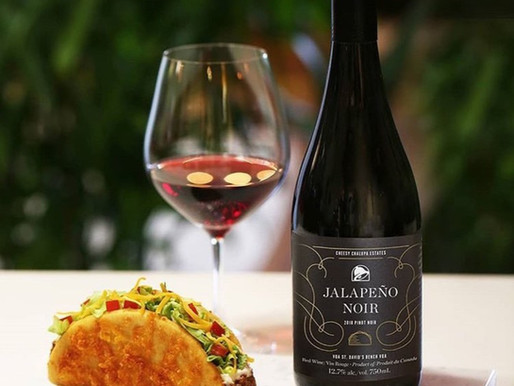 Taco Bell Launches Exclusive 'Jalapeno Noir' Red Wine In Canada