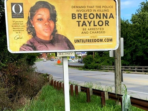 Oprah's Erects 26 Billboards Demanding Justice For Breonna Taylor Outside Louisville, Kentucky