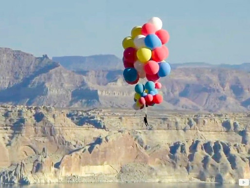 Illusionist and Magician David Blaine Blows Fans Away With His Latest  'Ascension' Balloon Stunt