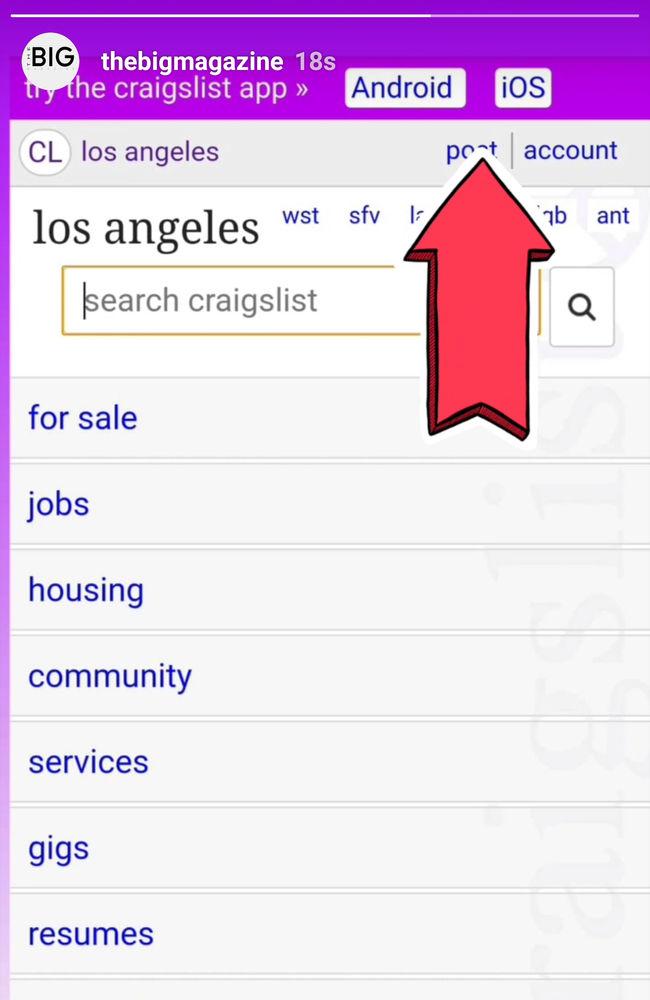 Craigslist Launches Official App