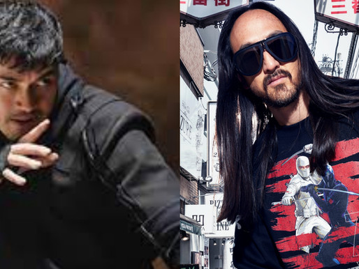 Steve Aoki's Dim Mak Collection + Paramount Pictures Drop New Snake Eyes Merch - Yamashiro Hollywood