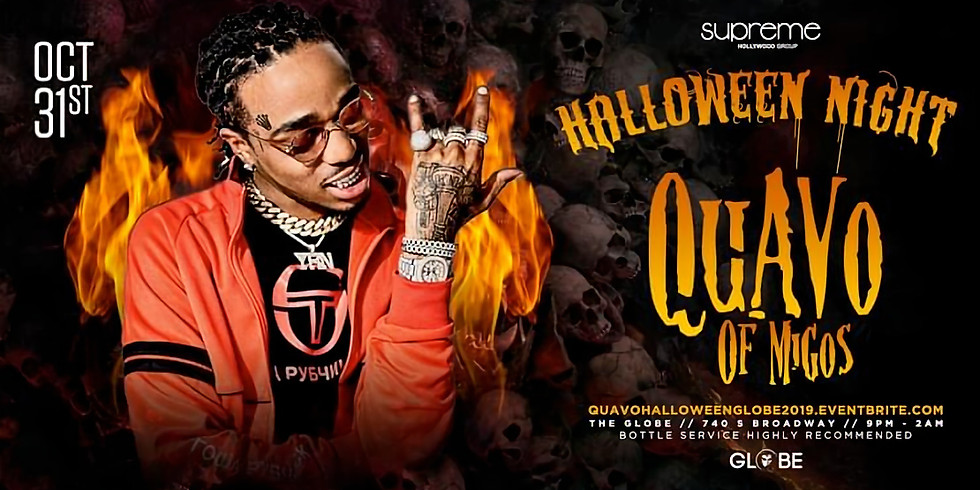 Quavo of MIGOS + Special Guests on Halloween Night