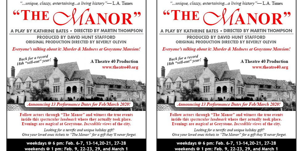 The Manor: Murder and Madness at Greystone