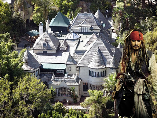Los Angeles Police Arrest Woman For Allegedly Burglarizing Johnny Depp's Hollywood Hills Mansion