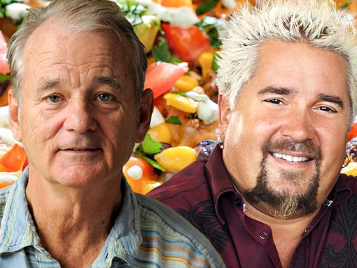 Food Network: Guy Fieri and Bill Murray Battle In Father-Son Nacho Cook Off
