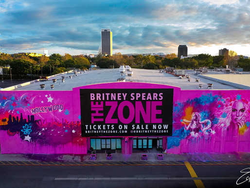 """Britney Spears: """"The Zone"""" Brings The Ultimate Fan Experience To Los Angeles"""