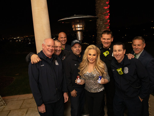 "Adrienne Maloof Hosts ""Festival of Trees"" Holiday Fundraiser For Los Angeles Firefighters"